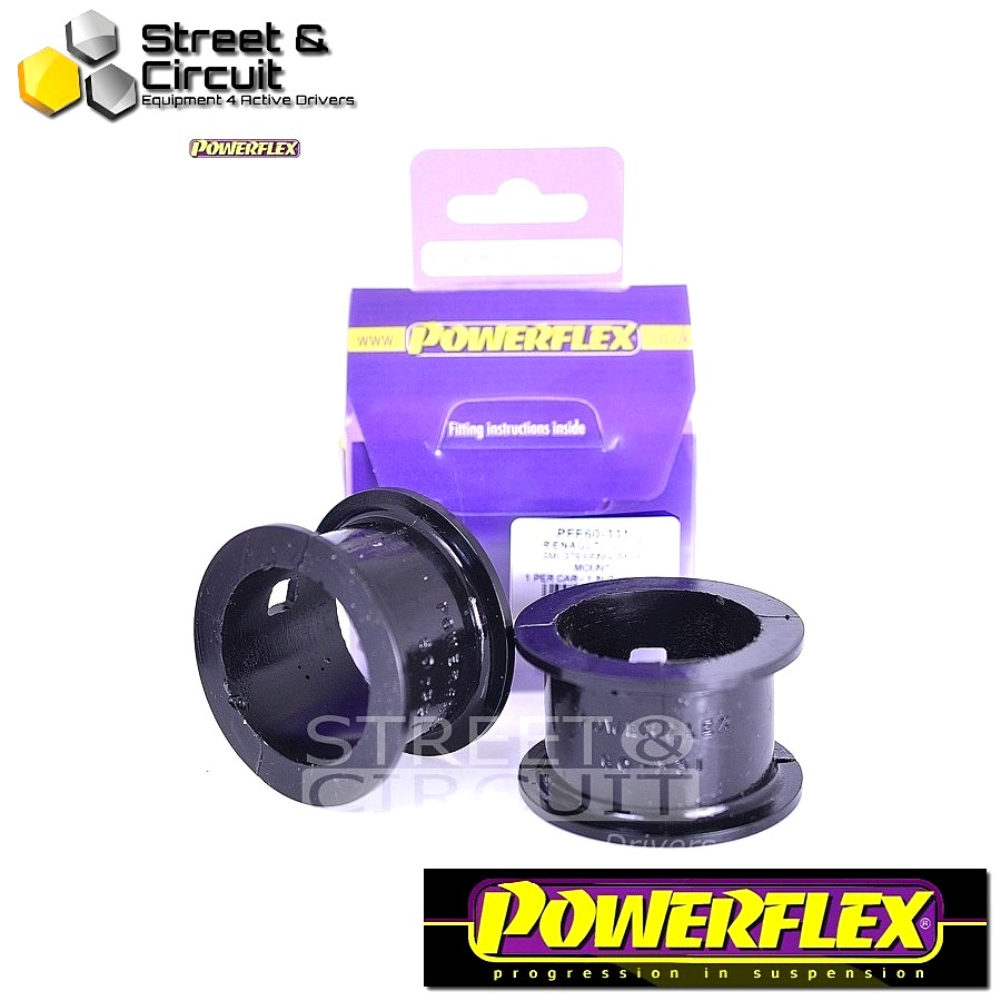 | ΑΡΙΘΜΟΣ ΣΧΕΔΙΟΥ  | - Powerflex ROAD *ΣΕΤ* Σινεμπλόκ - Clio II (inc 172 & 182) - SMI Steering Rack Mount Kit Code: PFF60-331