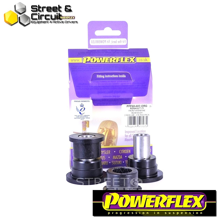 | ΑΡΙΘΜΟΣ ΣΧΕΔΙΟΥ 3 | - Powerflex ROAD *ΣΕΤ* Σινεμπλόκ - 21 inc Turbo - Front Lower Wishbone Rear Bush Code: PFF60-603 ORG