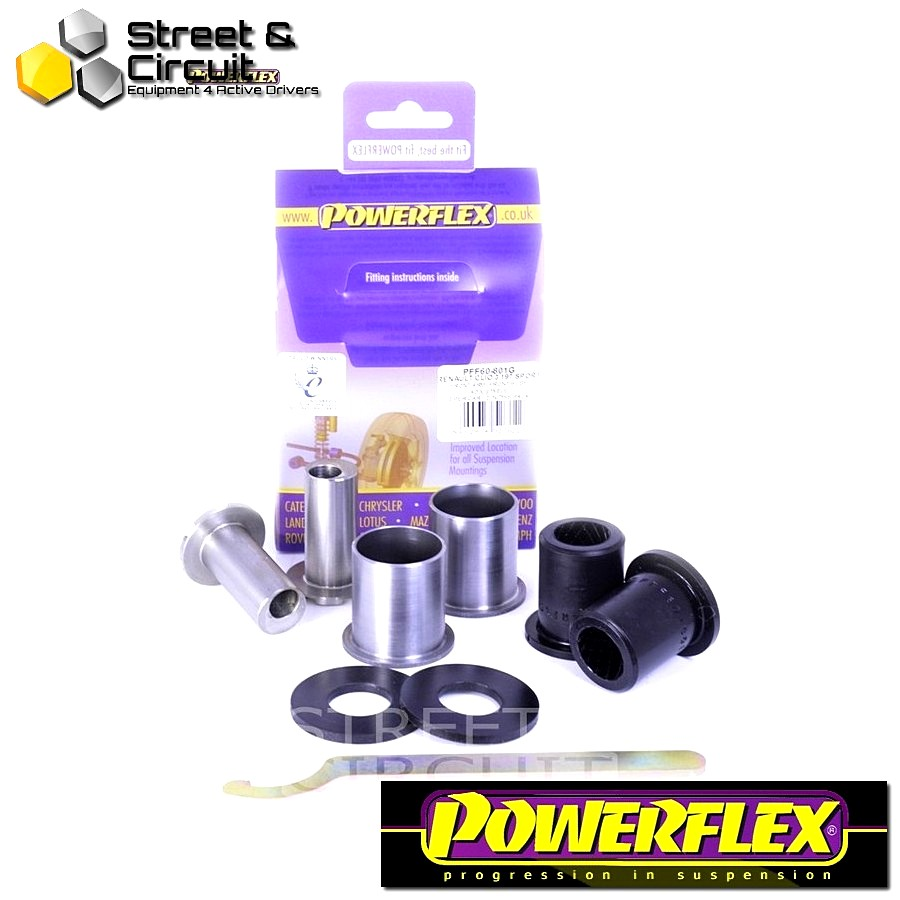 | ΑΡΙΘΜΟΣ ΣΧΕΔΙΟΥ 1 | - Powerflex ROAD *ΣΕΤ* Σινεμπλόκ - Clio III Sport 197/200 (2005 - 2012) - Front Arm Front Bush Camber Adjustable Code: PFF60-801G