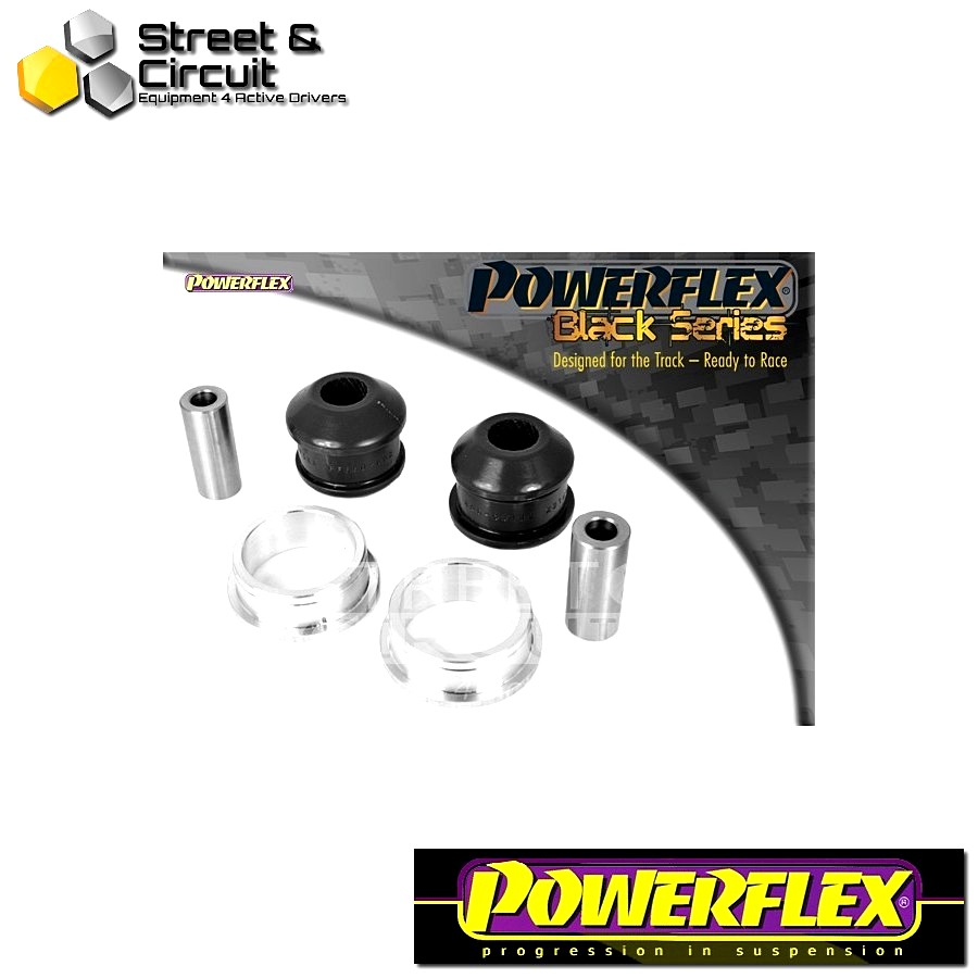 | ΑΡΙΘΜΟΣ ΣΧΕΔΙΟΥ 2 | - Powerflex BLACK SERIES *ΣΕΤ* Σινεμπλόκ - Clio III Sport 197/200 (2005 - 2012) - Front Arm Rear Bush Code: PFF60-902BLK