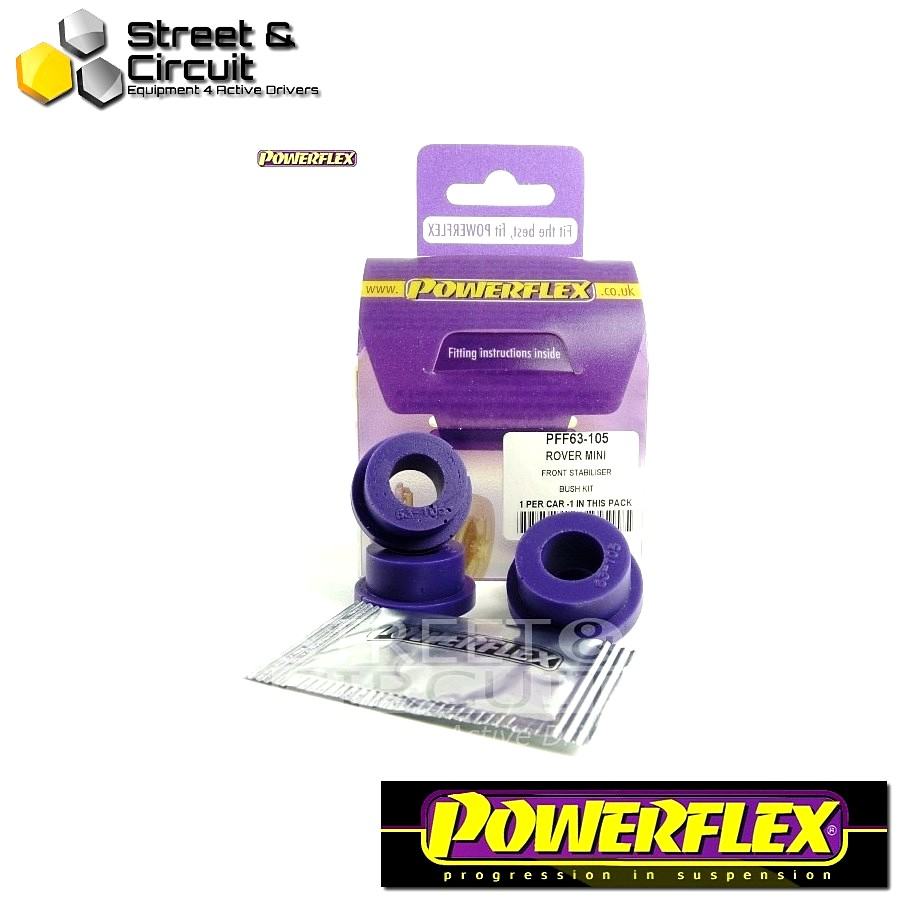 | ΑΡΙΘΜΟΣ ΣΧΕΔΙΟΥ 3 | - Powerflex ROAD *ΣΕΤ* Σινεμπλόκ - Mini - Engine Stabiliser Bar Bush Kit Code: PFF63-105