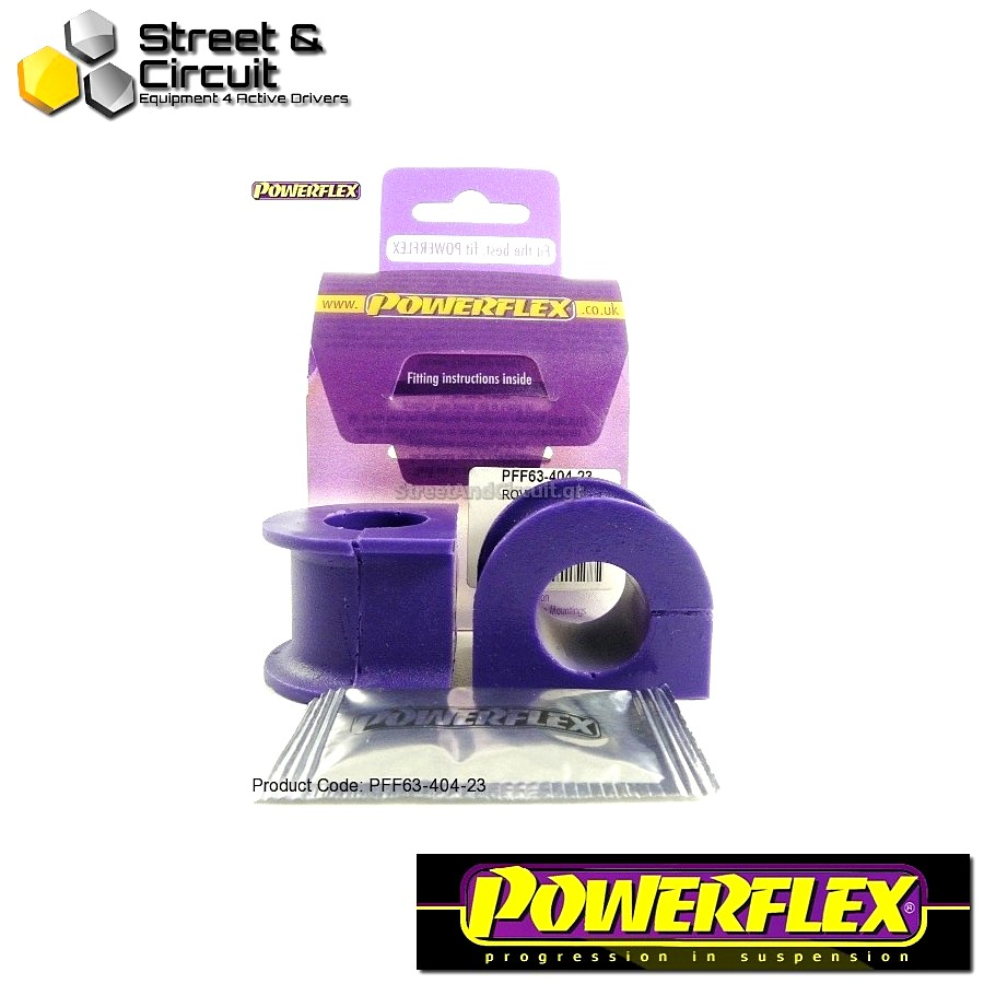 | ΑΡΙΘΜΟΣ ΣΧΕΔΙΟΥ 4 | - Powerflex ROAD *ΣΕΤ* Σινεμπλόκ - 200 Series (Old Shape) 400 Series (Old Shape) - Front Anti Roll Bar Mounts 23mm Code: PFF63-404-23