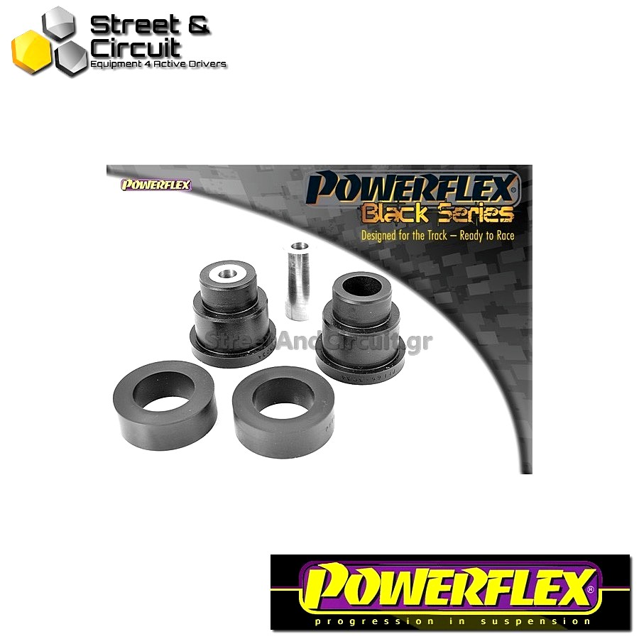 | ΑΡΙΘΜΟΣ ΣΧΕΔΙΟΥ 3 | - Powerflex BLACK SERIES *ΣΕΤ* Σινεμπλόκ - 9-3 (1998-2002) - Front Tie Bar Rear Bush Code: PFF66-303BLK