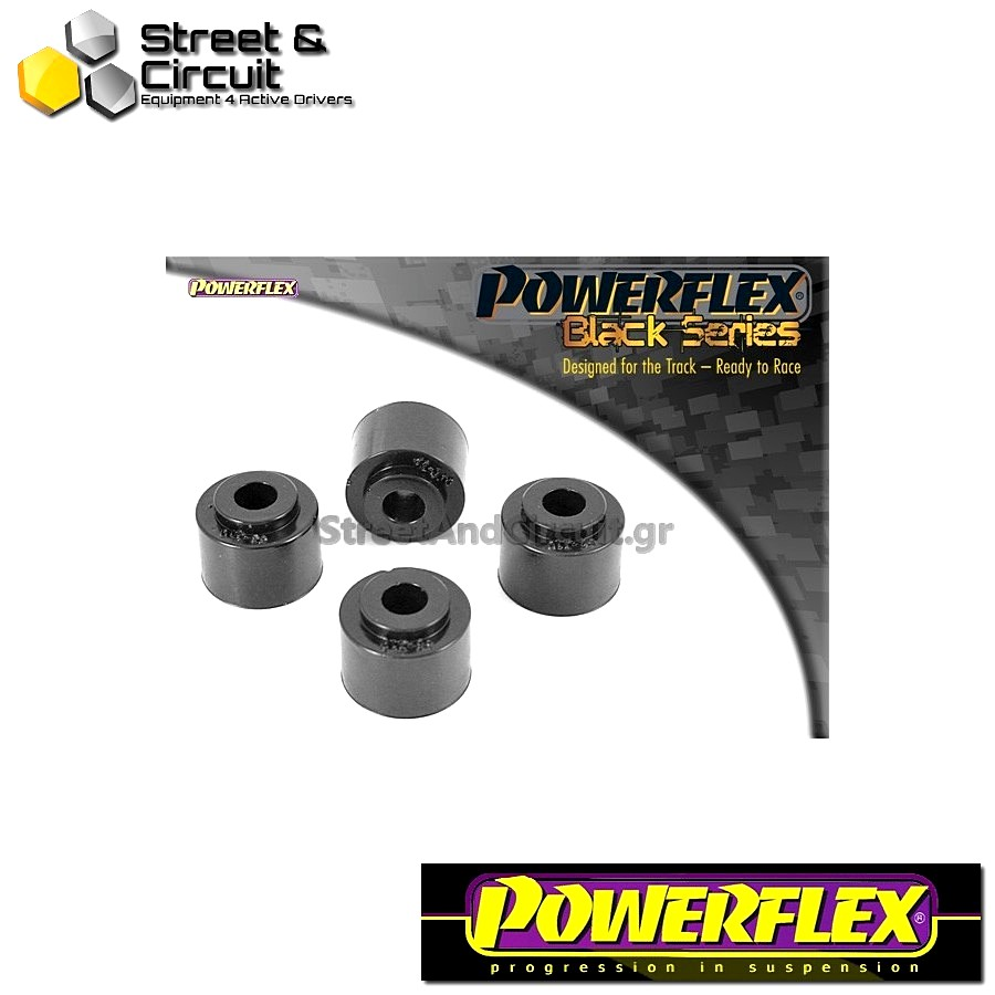 | ΑΡΙΘΜΟΣ ΣΧΕΔΙΟΥ 5 | - Powerflex BLACK SERIES *ΣΕΤ* Σινεμπλόκ - 9-3 (1998-2002) - Front Anti Roll Bar Drop Link Bush Code: PFF66-310BLK