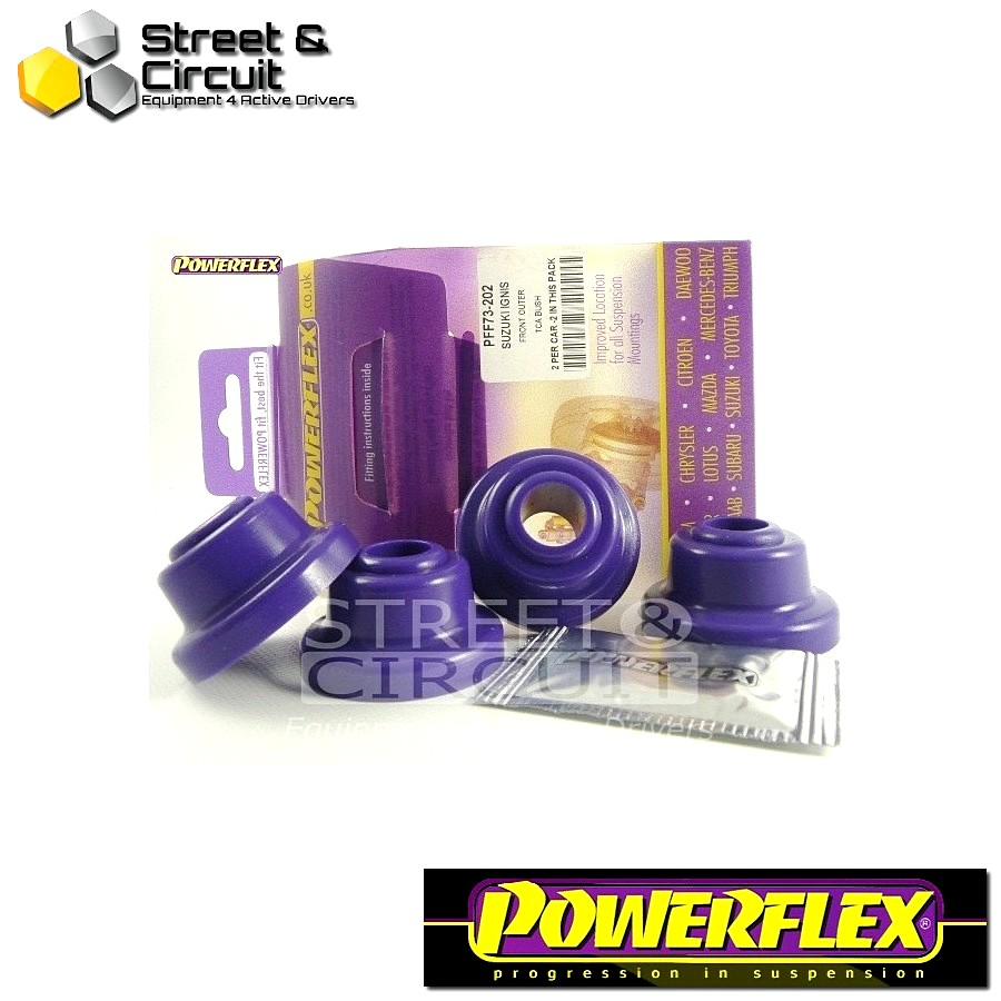 | ΑΡΙΘΜΟΣ ΣΧΕΔΙΟΥ 2 | - Powerflex ROAD *ΣΕΤ* Σινεμπλόκ - Matiz M100 & M150 (1998-2008) - Front Roll Bar Mount Bush Code: PFF73-202
