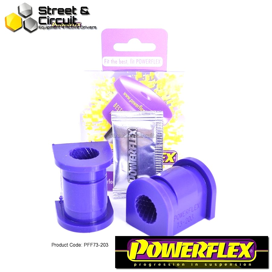 | ΑΡΙΘΜΟΣ ΣΧΕΔΙΟΥ 3 | - Powerflex ROAD *ΣΕΤ* Σινεμπλόκ - Matiz M100 & M150 (1998-2008) - Front Anti Roll Bar Bush 21mm Code: PFF73-203