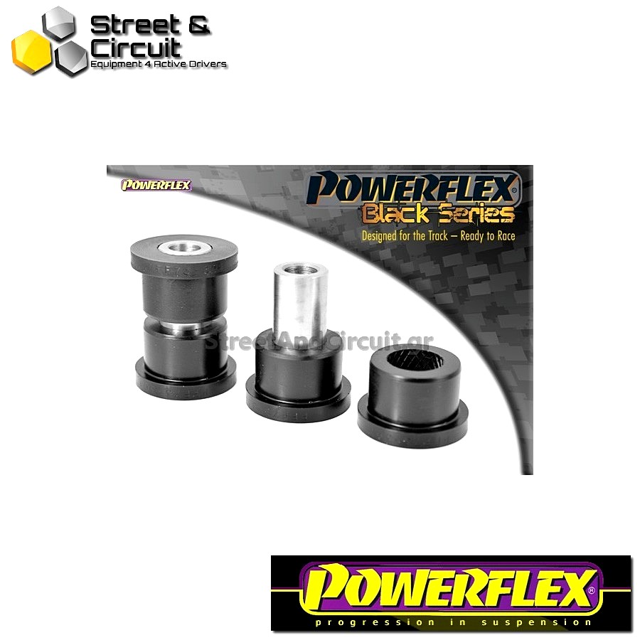 | ΑΡΙΘΜΟΣ ΣΧΕΔΙΟΥ 1 | - Powerflex BLACK SERIES *ΣΕΤ* Σινεμπλόκ - Swift - Sport (2007 - 2010) - Front Lower Wishbone Front Bush Code: PFF73-301BLK
