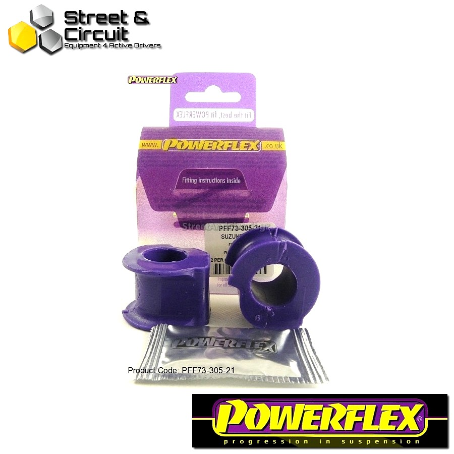 | ΑΡΙΘΜΟΣ ΣΧΕΔΙΟΥ 5 | - Powerflex ROAD *ΣΕΤ* Σινεμπλόκ - Swift - Sport (2007 - 2010) - Front Anti Roll Bar Bush 21mm Code: PFF73-305-21