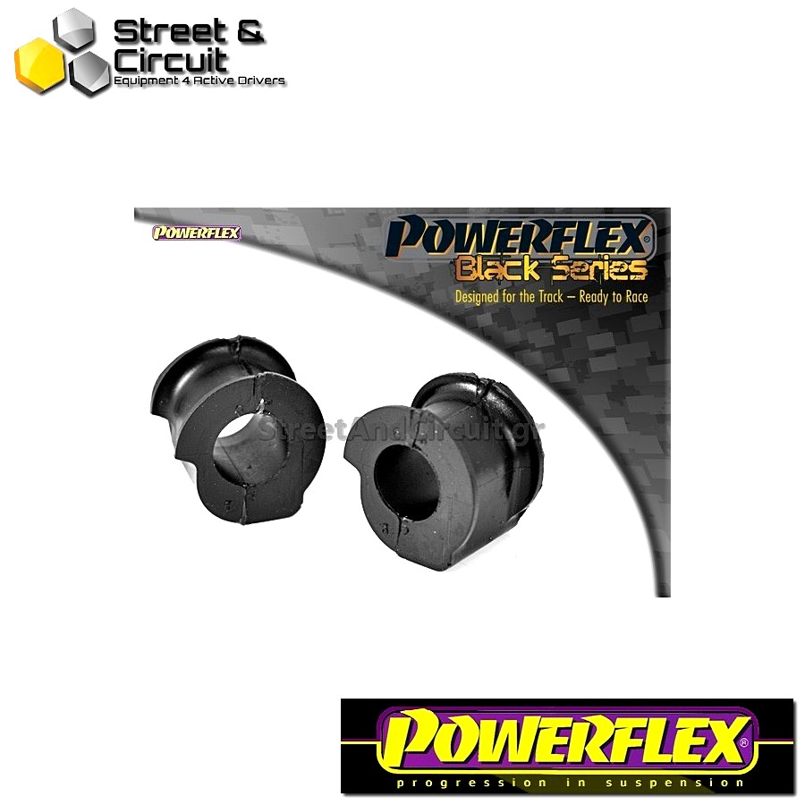 | ΑΡΙΘΜΟΣ ΣΧΕΔΙΟΥ 5 | - Powerflex BLACK SERIES *ΣΕΤ* Σινεμπλόκ - Swift - Sport (2007 - 2010) - Front Anti Roll Bar Bush 21mm Code: PFF73-305-21BLK