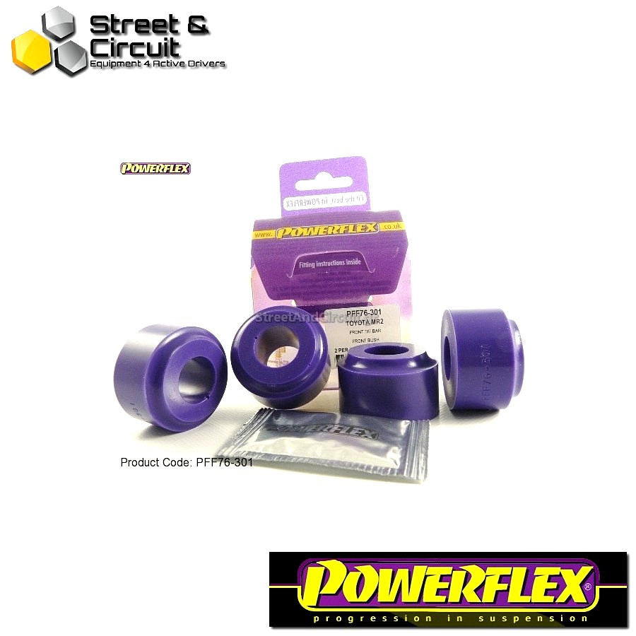 | ΑΡΙΘΜΟΣ ΣΧΕΔΙΟΥ 1 | - Powerflex ROAD *ΣΕΤ* Σινεμπλόκ - MR2 3S-FE/GE SW20 (1989-1999) - Front Tie Bar Front Bush Code: PFF76-301