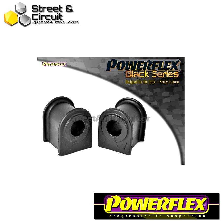 | ΑΡΙΘΜΟΣ ΣΧΕΔΙΟΥ 3 | - Powerflex BLACK SERIES *ΣΕΤ* Σινεμπλόκ - MR2 3S-FE/GE SW20 (1989-1999) - Front Anti Roll Bar Bush 18mm Code: PFF76-303BLK