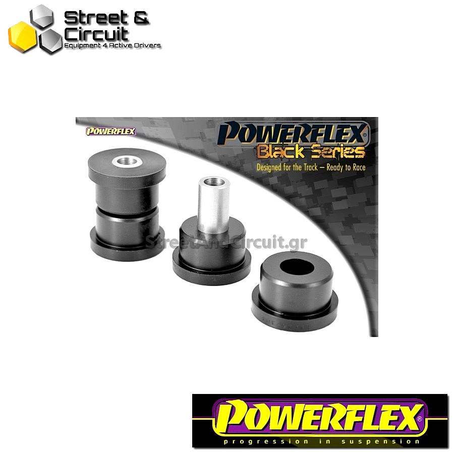 | ΑΡΙΘΜΟΣ ΣΧΕΔΙΟΥ 4 | - Powerflex BLACK SERIES *ΣΕΤ* Σινεμπλόκ - MR2 3S-FE/GE SW20 (1989-1999) - Rear Tie Bar Front Bush Code: PFF76-304BLK