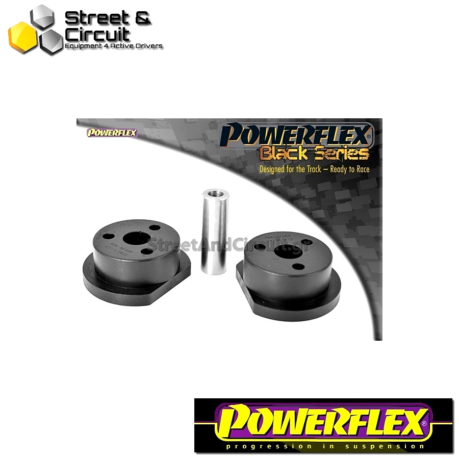 | ΑΡΙΘΜΟΣ ΣΧΕΔΙΟΥ 3 | - Powerflex BLACK SERIES *ΣΕΤ* Σινεμπλόκ - Starlet/Glanza Turbo EP82 & EP91 - Front Engine Mount Code: PFF76-422BLK