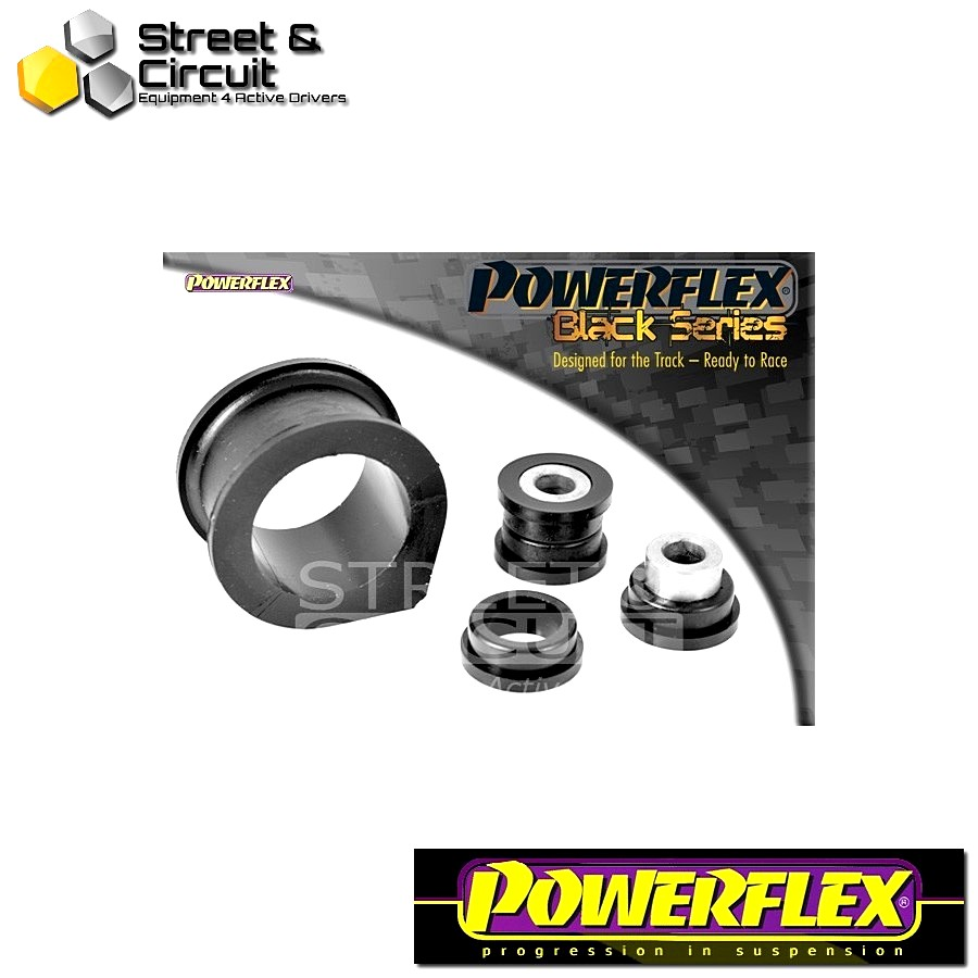 | ΑΡΙΘΜΟΣ ΣΧΕΔΙΟΥ 5 | - Powerflex BLACK SERIES *ΣΕΤ* Σινεμπλόκ - Supra 4 JZA80 (1993-2002) - Steering Rack Mount Bush Kit 47mm Code: PFF76-613BLK