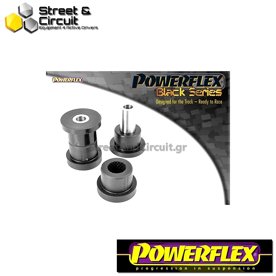 | ΑΡΙΘΜΟΣ ΣΧΕΔΙΟΥ 1 | - Powerflex BLACK SERIES *ΣΕΤ* Σινεμπλόκ - MiTo (2008 onwards) - Front Arm Front Bush Code: PFF80-1101BLK