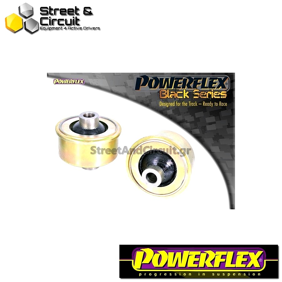 | ΑΡΙΘΜΟΣ ΣΧΕΔΙΟΥ 2 | - Powerflex BLACK SERIES *ΣΕΤ* Σινεμπλόκ - MiTo (2008 onwards) - Front Arm Rear Bush Code: PFF80-1102BLK