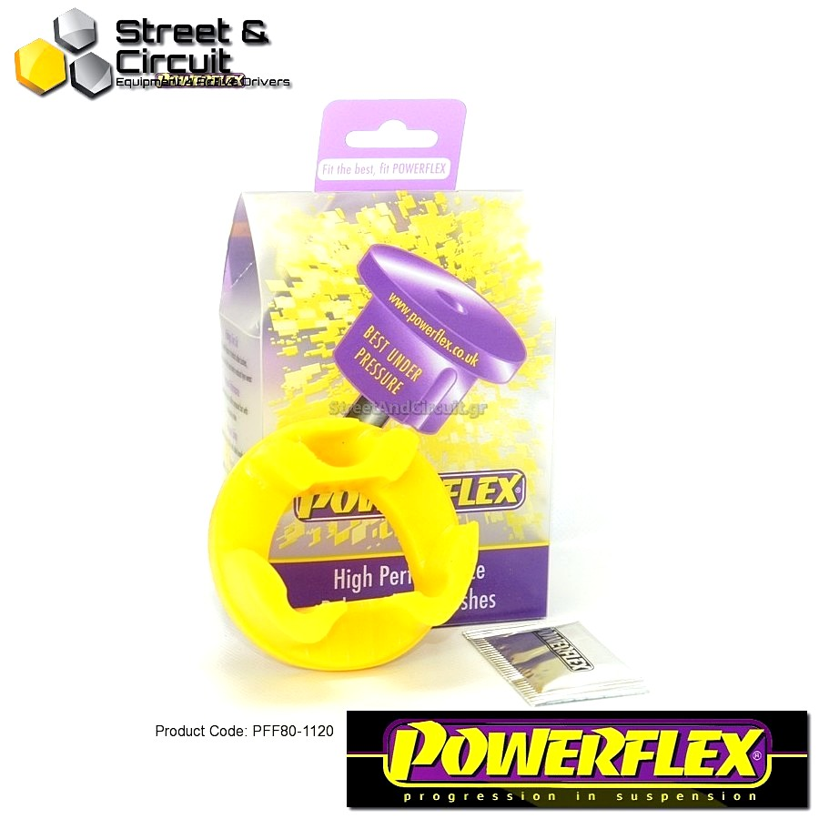 | ΑΡΙΘΜΟΣ ΣΧΕΔΙΟΥ 20 | - Powerflex ROAD *ΣΕΤ* Σινεμπλόκ - Grande Punto (2005 - 2009) Grande Punto Abarth - Lower Rear Engine Mount Insert Code: PFF80-1120