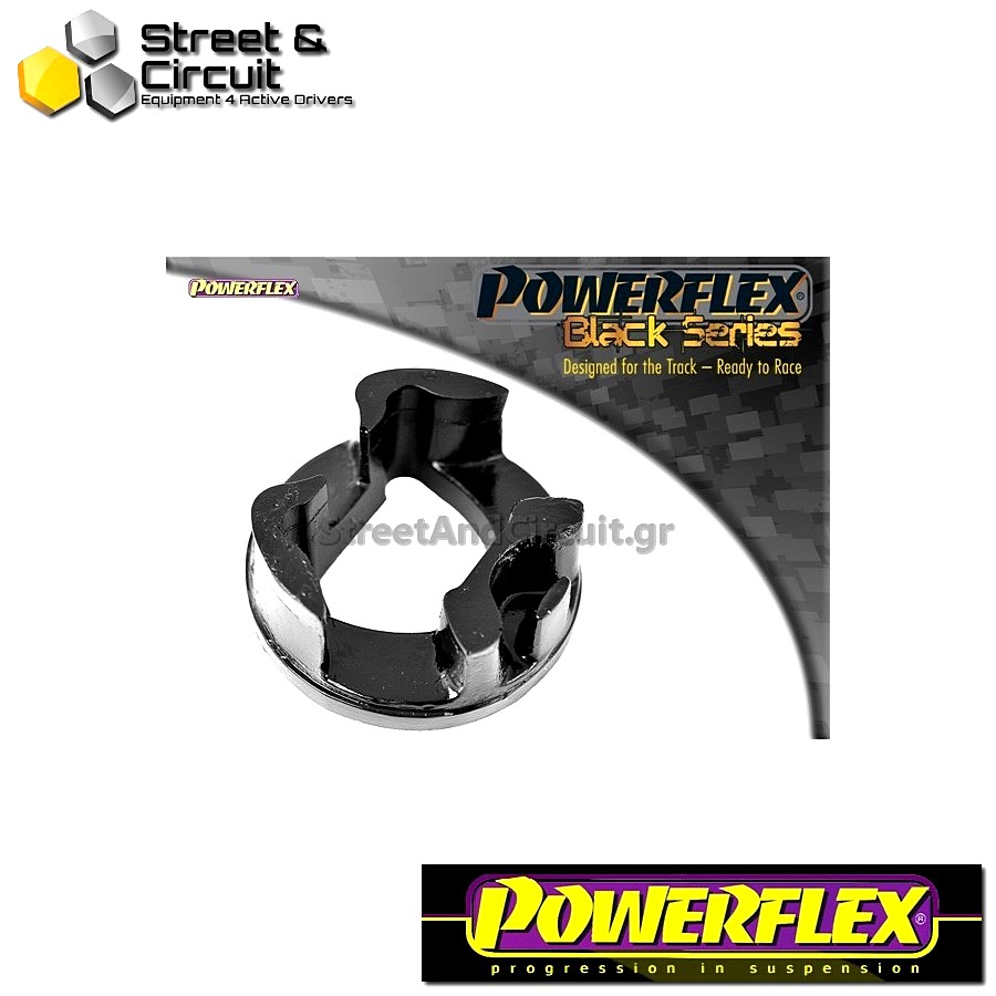 | ΑΡΙΘΜΟΣ ΣΧΕΔΙΟΥ 20 | - Powerflex BLACK SERIES *ΣΕΤ* Σινεμπλόκ - Grande Punto (2005 - 2009) Grande Punto Abarth - Lower Rear Engine Mount Insert Code: PFF80-1120BLK
