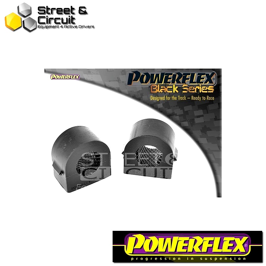 | ΑΡΙΘΜΟΣ ΣΧΕΔΙΟΥ 3 | - Powerflex BLACK SERIES *ΣΕΤ* Σινεμπλόκ - Signum (2003 - 2008) - Front Anti Roll Bar Mounting Bush 24mm (2 Piece) Code: PFF80-1203-24BLK