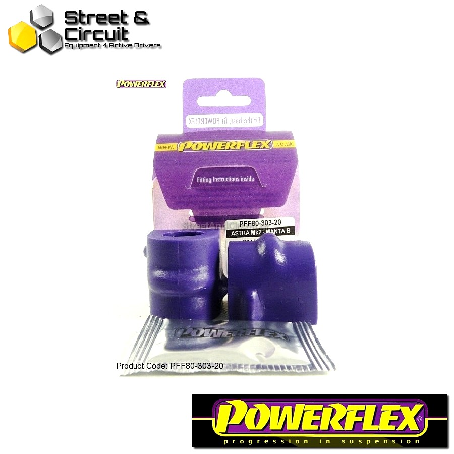 | ΑΡΙΘΜΟΣ ΣΧΕΔΙΟΥ 6 | - Powerflex ROAD *ΣΕΤ* Σινεμπλόκ - Manta B - Front Anti Roll Bar Mounting Bush 20mm Code: PFF80-303-20