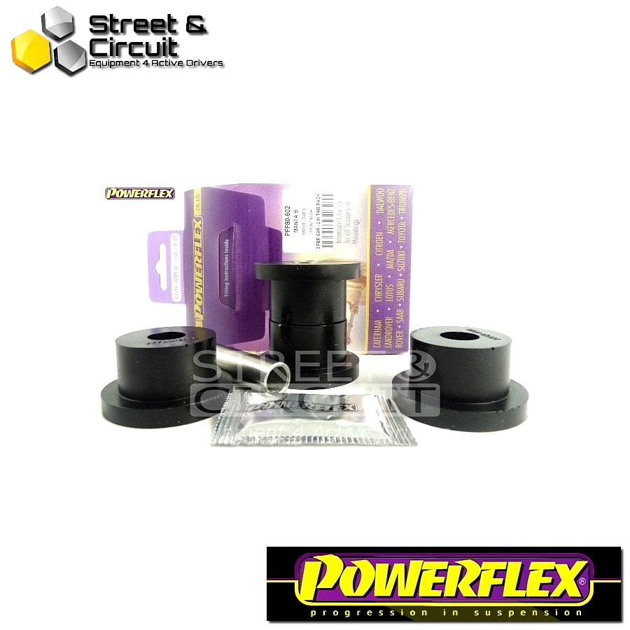 | ΑΡΙΘΜΟΣ ΣΧΕΔΙΟΥ 2 | - Powerflex ROAD *ΣΕΤ* Σινεμπλόκ - Manta B - Front Lower Wishbone Front Bush Code: PFF80-602