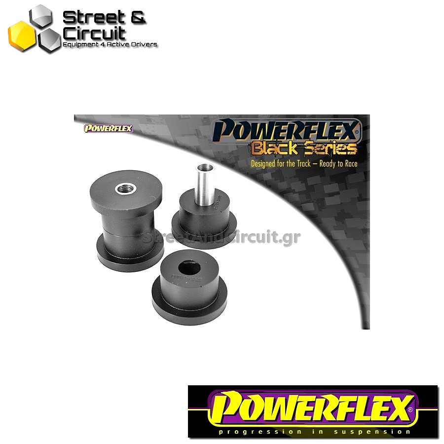 | ΑΡΙΘΜΟΣ ΣΧΕΔΙΟΥ 2 | - Powerflex BLACK SERIES *ΣΕΤ* Σινεμπλόκ - Manta B - Front Lower Wishbone Front Bush Code: PFF80-602BLK