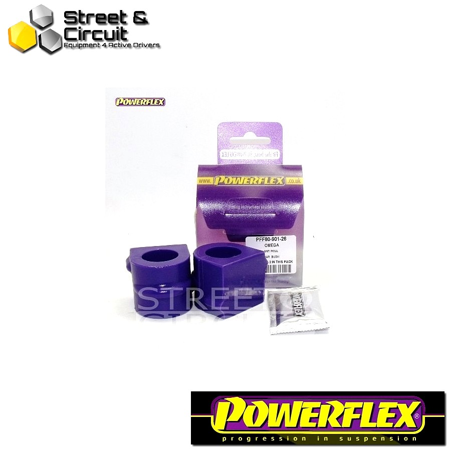 | ΑΡΙΘΜΟΣ ΣΧΕΔΙΟΥ 1 | - Powerflex ROAD *ΣΕΤ* Σινεμπλόκ - Omega B 1994-2003 - Front Anti Roll Bar To Chassis Bush 26mm Code: PFF80-901-26