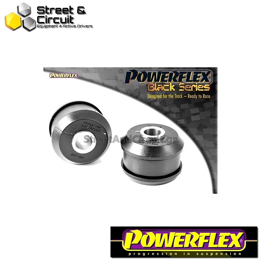 | ΑΡΙΘΜΟΣ ΣΧΕΔΙΟΥ 2 | - Powerflex BLACK SERIES *ΣΕΤ* Σινεμπλόκ - Lupo (1999 - 2006) - Front Wishbone Rear Bush Code: PFF85-402BLK
