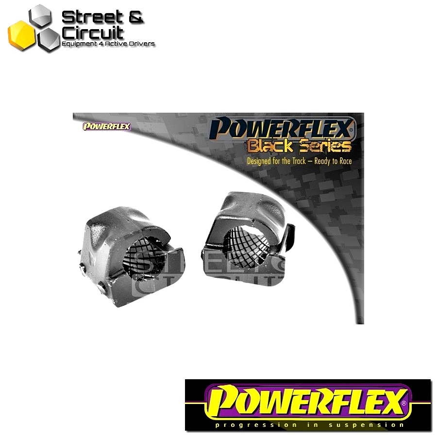 | ΑΡΙΘΜΟΣ ΣΧΕΔΙΟΥ 3 | - Powerflex BLACK SERIES *ΣΕΤ* Σινεμπλόκ - Arosa (1997 - 2004) - Front Anti Roll Bar Bush 22mm Code: PFF85-403-22BLK
