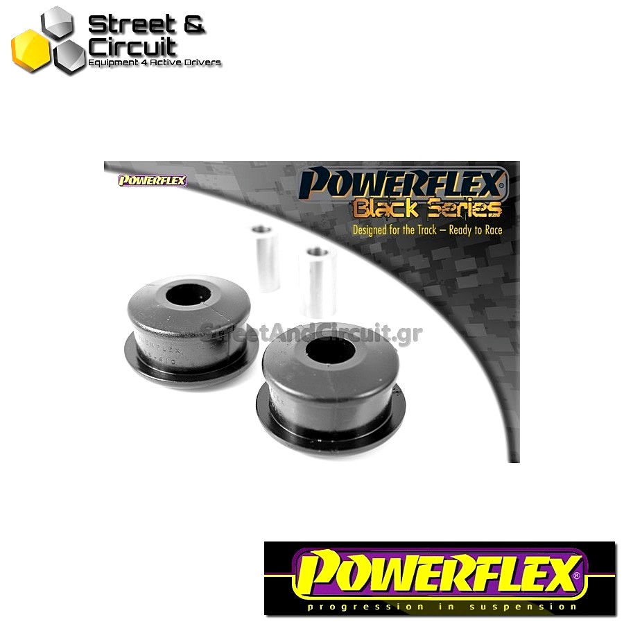 | ΑΡΙΘΜΟΣ ΣΧΕΔΙΟΥ 2 | - Powerflex BLACK SERIES *ΣΕΤ* Σινεμπλόκ - New Beetle & Cabrio (1998-onwards) - Front Wishbone Rear Bush Code: PFF85-410BLK