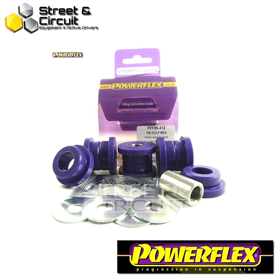 | ΑΡΙΘΜΟΣ ΣΧΕΔΙΟΥ 4 | - Powerflex ROAD *ΣΕΤ* Σινεμπλόκ - Octavia Mk1 Typ 1U (1996-2004) - Front Anti Roll Bar Link Bush Kit Code: PFF85-412