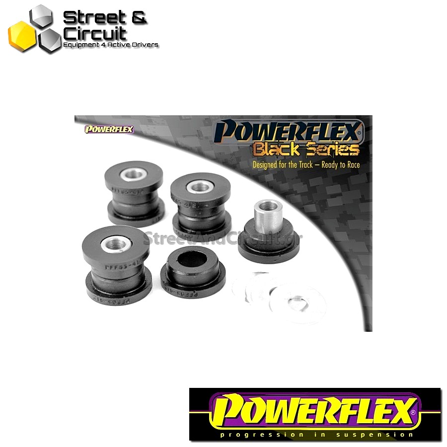 | ΑΡΙΘΜΟΣ ΣΧΕΔΙΟΥ 4 | - Powerflex BLACK SERIES *ΣΕΤ* Σινεμπλόκ - Octavia Mk1 Typ 1U (1996-2004) - Front Anti Roll Bar Link Bush Kit Code: PFF85-412BLK