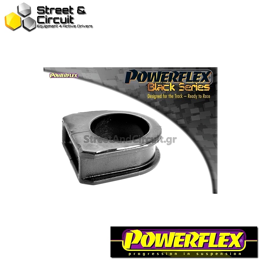 | ΑΡΙΘΜΟΣ ΣΧΕΔΙΟΥ 7 | - Powerflex BLACK SERIES *ΣΕΤ* Σινεμπλόκ - New Beetle & Cabrio (1998-onwards) - Steering Rack Mount Bush Code: PFF85-416BLK