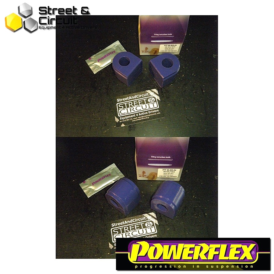 | ΑΡΙΘΜΟΣ ΣΧΕΔΙΟΥ 3 | - Powerflex ROAD *ΣΕΤ* Σινεμπλόκ - Eos 1F (2006-) - Front Anti Roll Bar Bush 24mm Code: PFF85-503-24