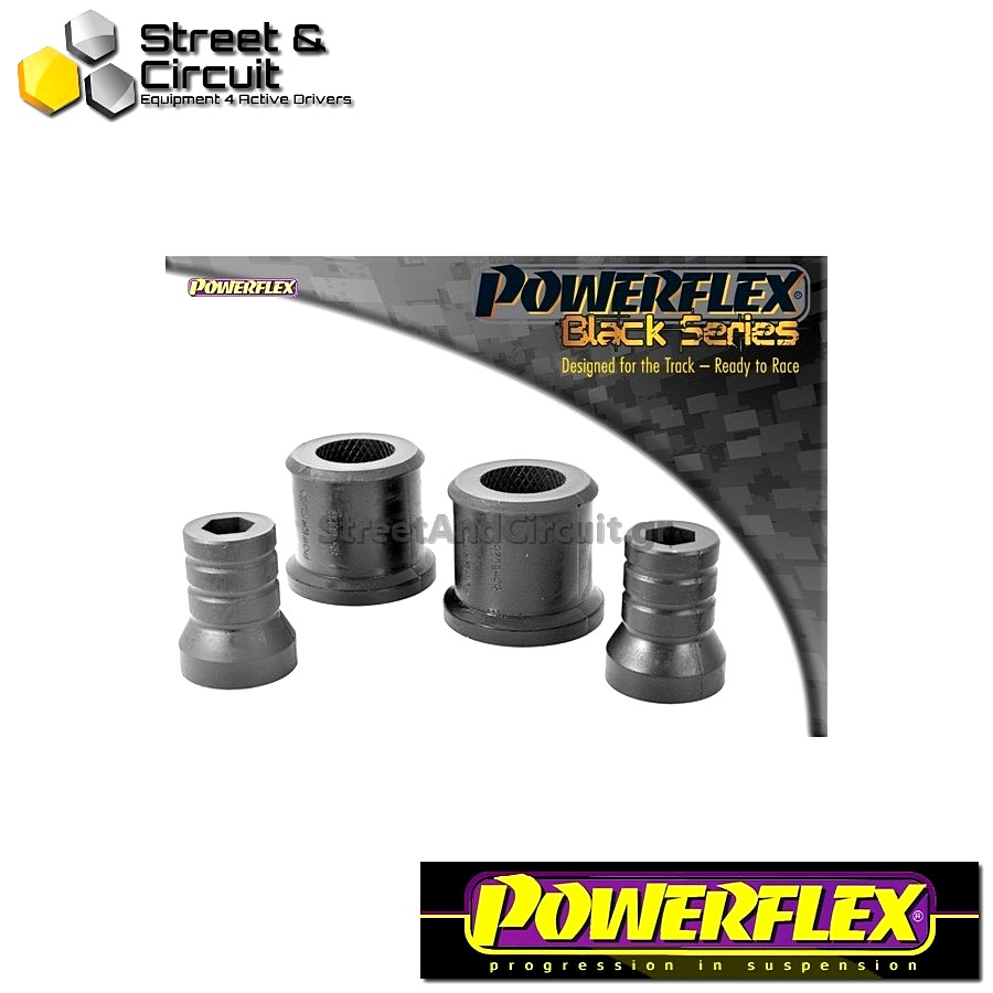 | ΑΡΙΘΜΟΣ ΣΧΕΔΙΟΥ 2 | - Powerflex BLACK SERIES *ΣΕΤ* Σινεμπλόκ - Polo 9N/9N3 (2002 - 2008) - Front Wishbone Rear Bush  Code: PFF85-602BLK
