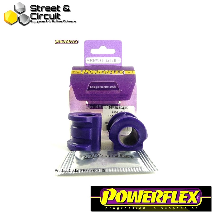 | ΑΡΙΘΜΟΣ ΣΧΕΔΙΟΥ 3 | - Powerflex ROAD *ΣΕΤ* Σινεμπλόκ - Fabia 5J (2008-) - Front Anti Roll Bar Bush 19mm Code: PFF85-603-19