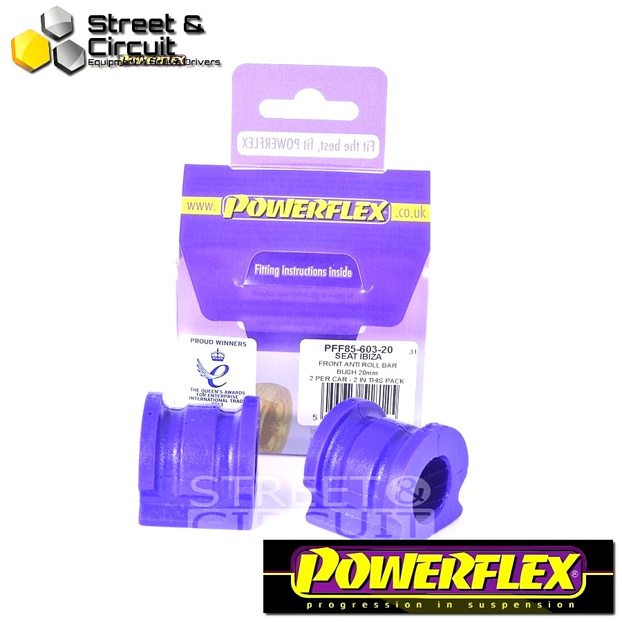 | ΑΡΙΘΜΟΣ ΣΧΕΔΙΟΥ 3 | - Powerflex ROAD *ΣΕΤ* Σινεμπλόκ - Fabia 5J (2008-) - Front Anti Roll Bar Bush 20mm Code: PFF85-603-20