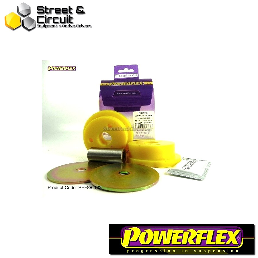 | ΑΡΙΘΜΟΣ ΣΧΕΔΙΟΥ 12 | - Powerflex ROAD *ΣΕΤ* Σινεμπλόκ - S60 (2001-2010), V70-Mk2, S80-Mk1 (2000-on) - Upper Engine Mount Large Round Bush Diesel Code: PFF88-103