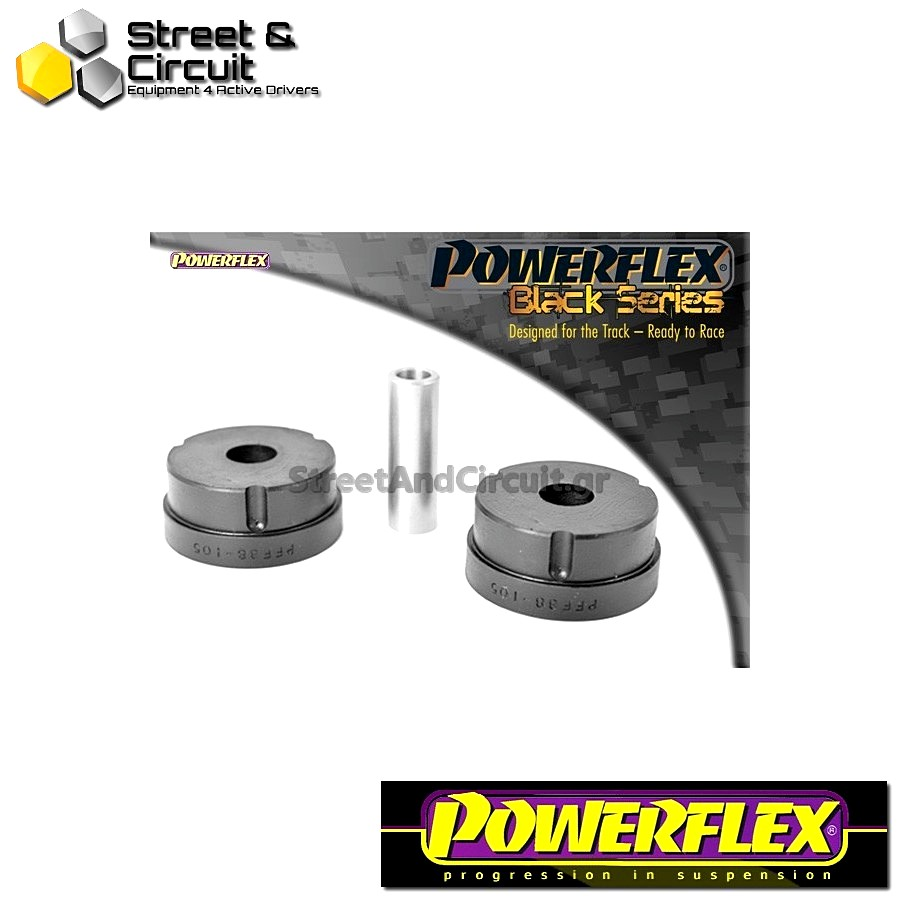 | ΑΡΙΘΜΟΣ ΣΧΕΔΙΟΥ 2 | - Powerflex BLACK SERIES *ΣΕΤ* Σινεμπλόκ - 850, S70, V70 up to 2000 - Front Upper Engine Mounting Code: PFF88-105BLK