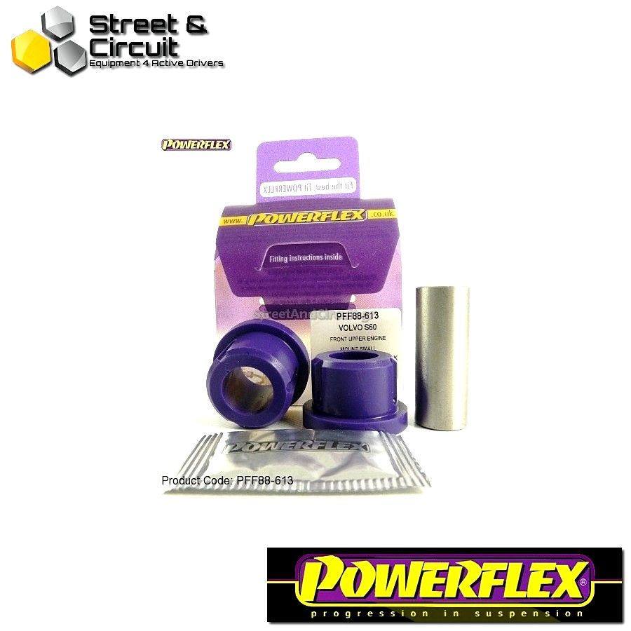 | ΑΡΙΘΜΟΣ ΣΧΕΔΙΟΥ 13 | - Powerflex ROAD *ΣΕΤ* Σινεμπλόκ - S60 (2001-2010), V70-Mk2, S80-Mk1 (2000-on) - Upper Engine Mount Small Bush Code: PFF88-613