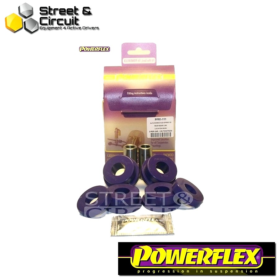 | ΑΡΙΘΜΟΣ ΣΧΕΔΙΟΥ 4 | - Powerflex ROAD *ΣΕΤ* Σινεμπλόκ - Sud, Sprint, 33 - Rear Beam Link Location Bush Code: PFR1-111