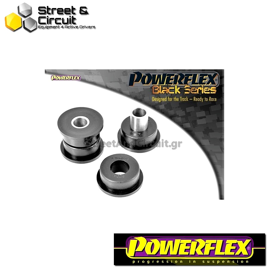 | ΑΡΙΘΜΟΣ ΣΧΕΔΙΟΥ 4 | - Powerflex BLACK SERIES *ΣΕΤ* Σινεμπλόκ - 164 V6 & Twin Spark (1987 -1998) - Rear Tie Bar To Hub Bush Code: PFR1-604BLK