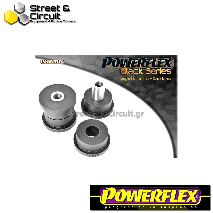 | ΑΡΙΘΜΟΣ ΣΧΕΔΙΟΥ 6 | - Powerflex BLACK SERIES *ΣΕΤ* Σινεμπλόκ - Spider (1995-2006), GTV 2.0 & V6 (1995-2005) - Rear Lower Spring Inner Mount Code: PFR1-713BLK