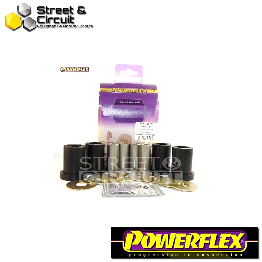 | ΑΡΙΘΜΟΣ ΣΧΕΔΙΟΥ 7W | - Powerflex ROAD *ΣΕΤ* Σινεμπλόκ - 355 (1994-1999) - Rear Upper Wishbone Outer Bush Code: PFR17-207W