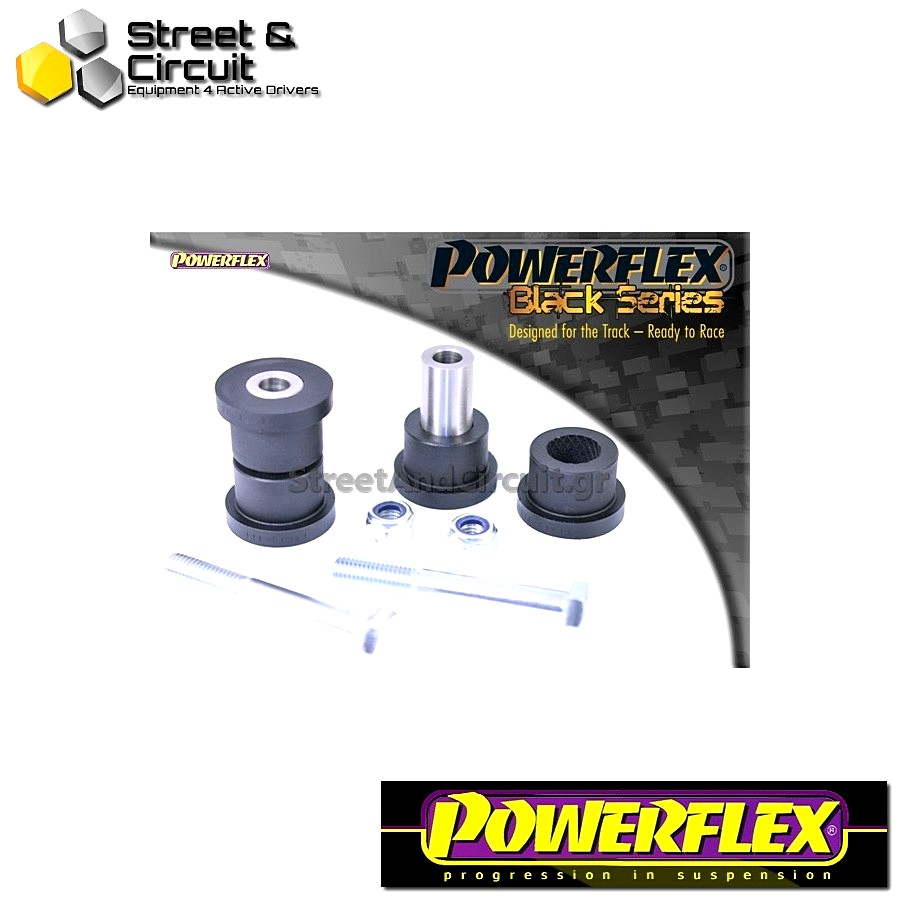 | ΑΡΙΘΜΟΣ ΣΧΕΔΙΟΥ 6 | - Powerflex BLACK SERIES *ΣΕΤ* Σινεμπλόκ - Scorpio All Types (up to 1996) - Rear Trailing Arm Inner Bush Code: PFR19-111BLK