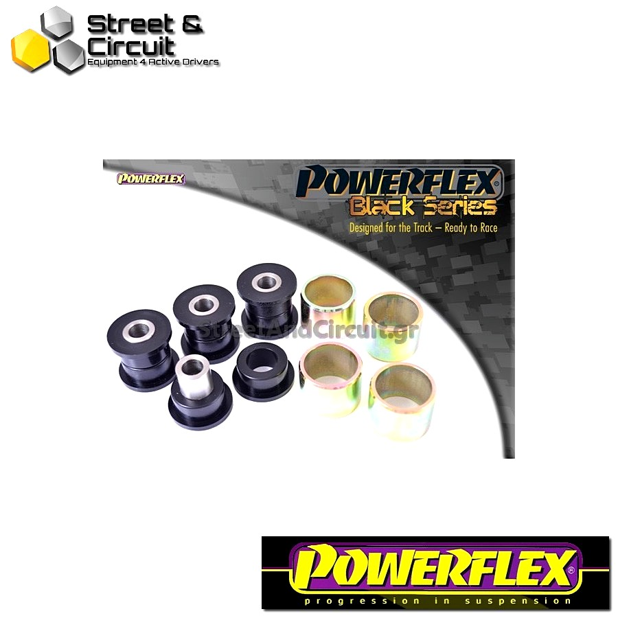 | ΑΡΙΘΜΟΣ ΣΧΕΔΙΟΥ 10 | - Powerflex BLACK SERIES *ΣΕΤ* Σινεμπλόκ - V50 (2004 onwards) - Rear Upper Trailing Arm Bush Code: PFR19-810BLK