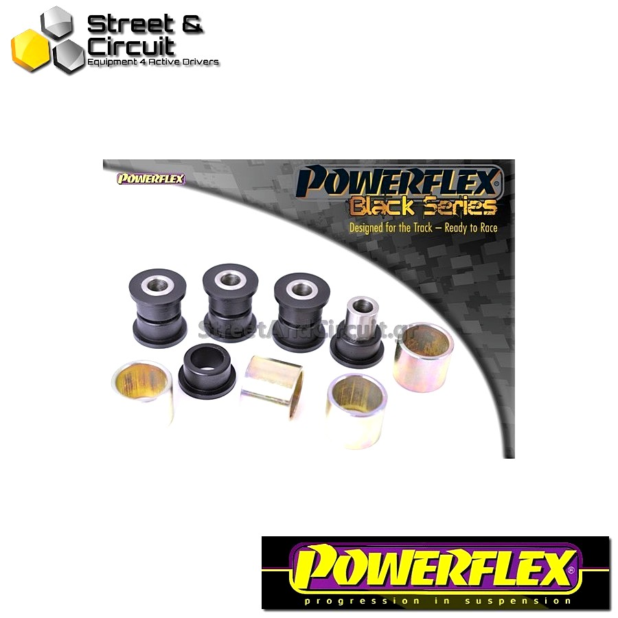 | ΑΡΙΘΜΟΣ ΣΧΕΔΙΟΥ 11 | - Powerflex BLACK SERIES *ΣΕΤ* Σινεμπλόκ - Mazda3 (2004-2009) - Rear Lower Trailing Arm Bush Code: PFR19-811BLK