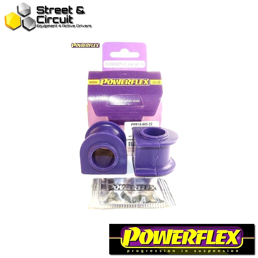 | ΑΡΙΘΜΟΣ ΣΧΕΔΙΟΥ 5 | - Powerflex ROAD *ΣΕΤ* Σινεμπλόκ - X Type (2001-2009) - Rear Anti Roll Bar Bush 22mm Code: PFR19-905-22