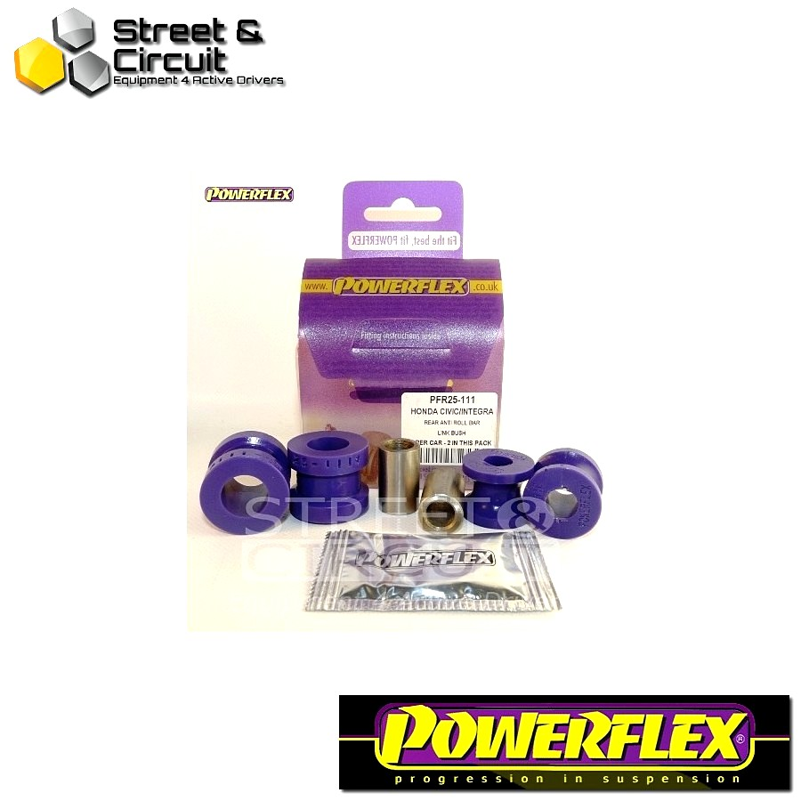 | ΑΡΙΘΜΟΣ ΣΧΕΔΙΟΥ 11 | - Powerflex ROAD *ΣΕΤ* Σινεμπλόκ - 200 Series (Old Shape) 400 Series (Old Shape) - Rear Anti Roll Bar Link Kit Code: PFR25-111