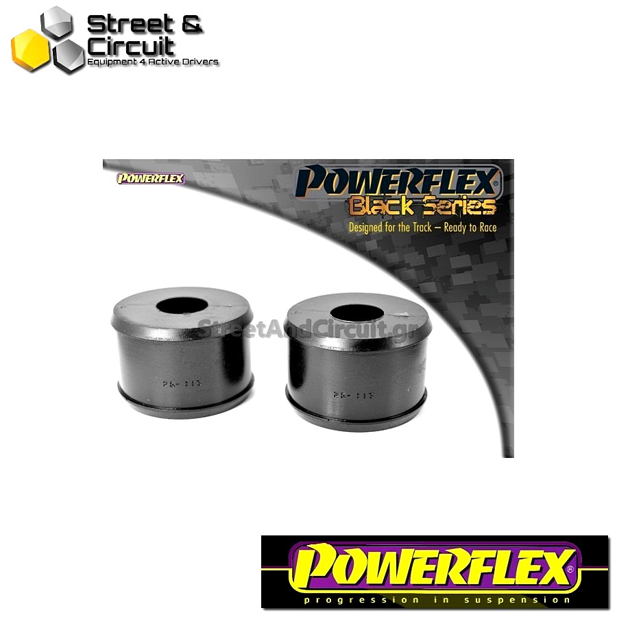 | ΑΡΙΘΜΟΣ ΣΧΕΔΙΟΥ 13 | - Powerflex BLACK SERIES *ΣΕΤ* Σινεμπλόκ - ZS - Rear Trailing Arm Mount Bush Code: PFR25-113BLK